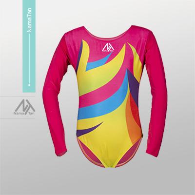 لباس ژیمناستیک دخترانه 4048